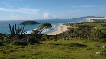 Sicht auf Praia do Luz
