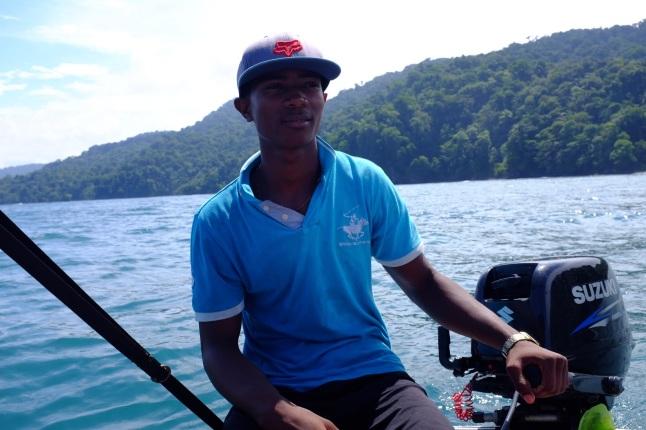 Unser Bootsfahrer