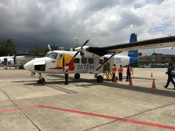 Unser Flieger nach Nuquí