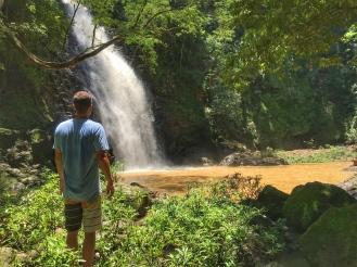 Der unterste und grösste Wasserfall von Montezuma