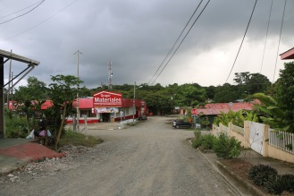 """Downtown"" Puerto Jiménez"