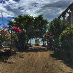 Weg zur Playa Gigante