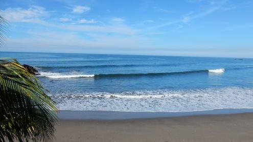 Der Surfstrand vor unserer Nase