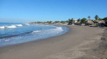 Der Strand von Las Peñitas