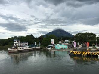 Überfahrt zur Insel auf dem Nicaragua-See