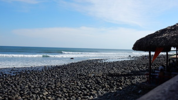Da soll sie sein - die beste Welle Mittelamerikas