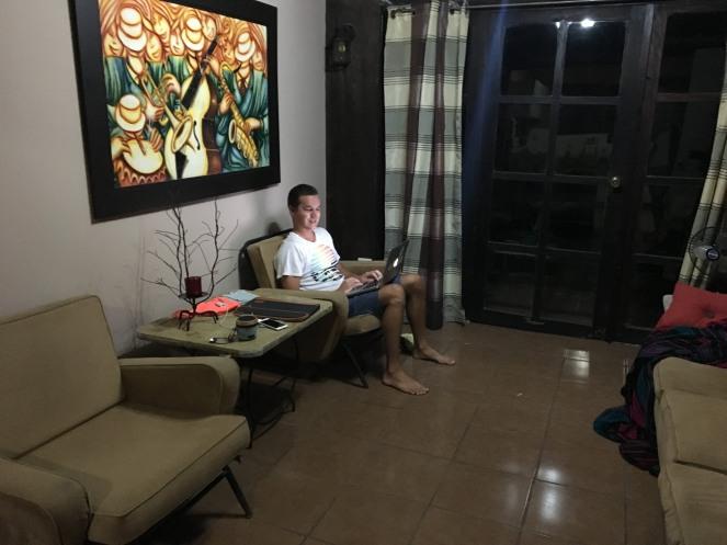 Während der Wartezeit wegen dem Visum haben wirs gemütlich in San Salvador