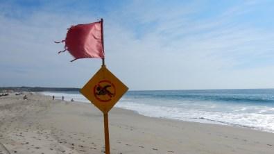 Surfen ja, Schwimmen nein