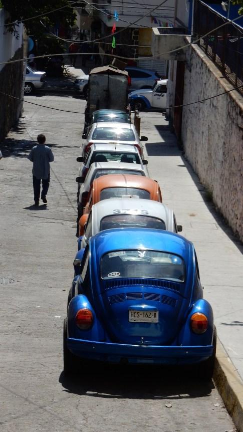 Der VW Käfer ist omnipräsent