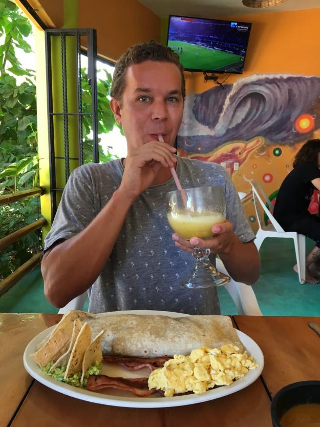 Der Surfer Burrito ist Marcels Lieblings-Zmorge