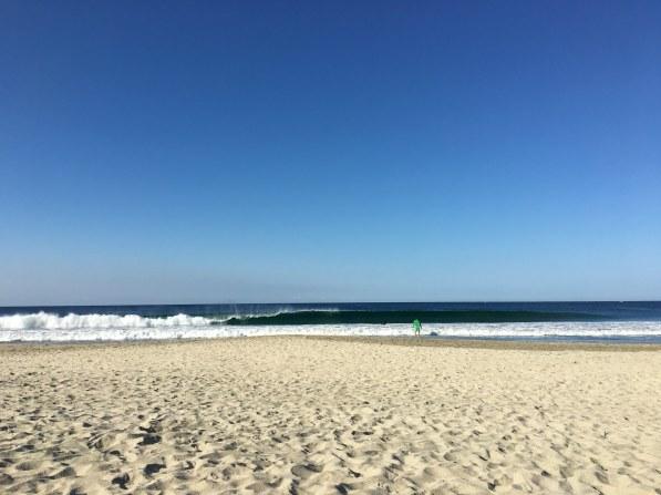 Schnelle Wellen am Zicatela