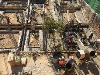 Baustellen-Leben