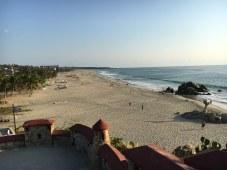 Der Strand in voller Länge
