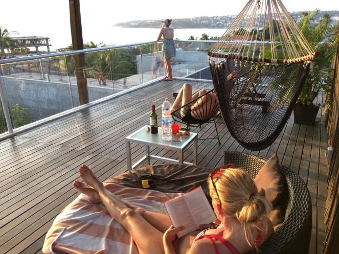 Die luxuriöse Dachterrasse