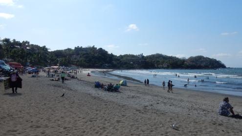 Der Strand in Sayulita