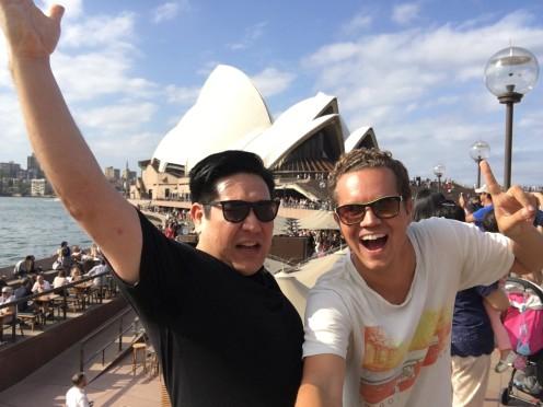 Marcels bester Freund lebt auch in Sydney